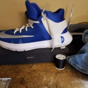 Blue and white kb nikey $45